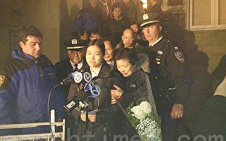 12月22日,劉文建妻子陳佩霞發表聲明表達哀痛,對各界慰問和關心表示感謝。(林丹/大紀元)