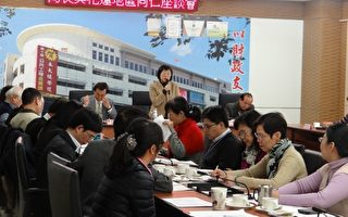 22日由財政部北區國稅局長李慶華與工商、學術團體,進行面對面溝通座談會。(北區國稅局花蓮分局提供)