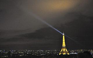 組圖:聖誕彩燈中的巴黎