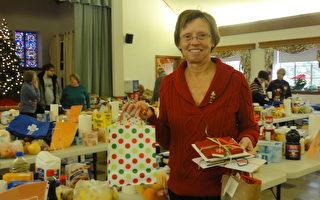 美「食物銀行」 聖誕為貧困家庭獻愛心