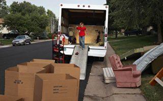 越來越少的美國人願意為新工作搬家