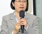 法轮功人权律师团发言人朱婉琪(罗瑞勋/大纪元)