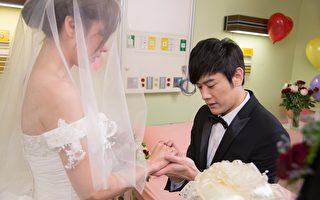 張勛傑醫院拍結婚戲:李維維眼淚像噴泉