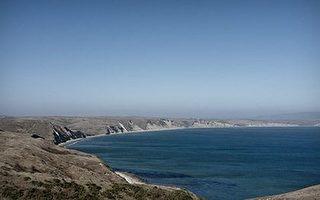 德雷克斯湾,雷耶斯(Reyes)国家海岸(国家公园提供)