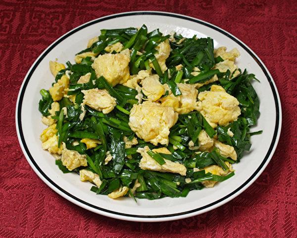 蛋炒韭菜。(Fotolia)