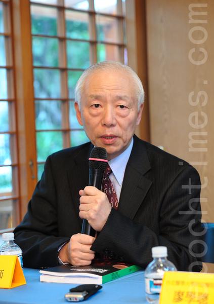 台湾国际器官移植关怀协会理事长、名中医师胡乃文。(宋碧龙/ 大纪元)