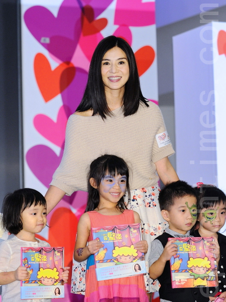 杨采妮有生育计划,不过也说希望顺其自然。(宋祥龙/大纪元)