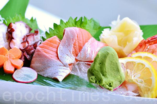 生鱼片与芥末。(大纪元)