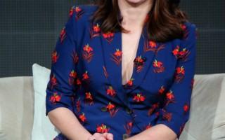 蒂娜•菲在加州帕薩迪納出席電視評論家協會巡迴記者會。(Mark Davis/Getty Images for Netflix)