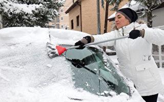 9招 讓你快速清除愛車上的冰雪