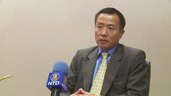舊金山華資企業「ACE土地投資集團」首席代表兼中國區總經理鄒青。(鄭浩/大紀元)