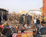 外媒报导,从上周末开始,尼日利亚极端组织博科武装分子在5天的时间里,杀害巴加2000多平民,整个城市被烧毁。图为去年12月一个博科份子制造的爆炸,造成31人死。    (Photo credit should read -/AFP/Getty Images)
