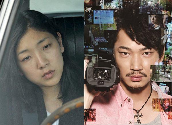 日本旬報最佳女主角安藤櫻(左)最佳男主角綾野剛(右)。(電影官網臉書、采昌/大紀元合成)