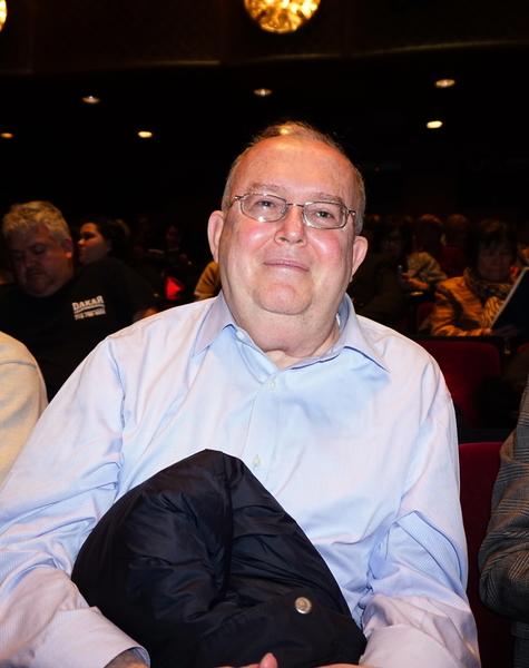 律師行老闆Robert Wayburn先生與太太觀賞了神韻紐約藝術團1月10日在紐約林肯中心的演出。他感慨神韻讓他看到了中國的古老文明。(潘美玲/大紀元)
