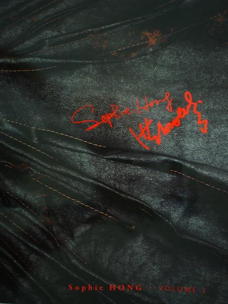 洪丽芬研发的Hong Silk,质感独特。(图片来源:Sophie Hong提供)