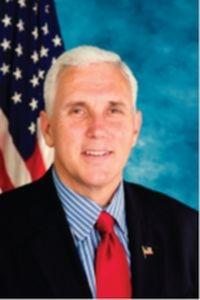 印第安纳州州长迈克尔•彭斯(Mike R. Pence)