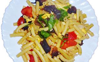 創意菜譜:意大利麵條中式炒麵