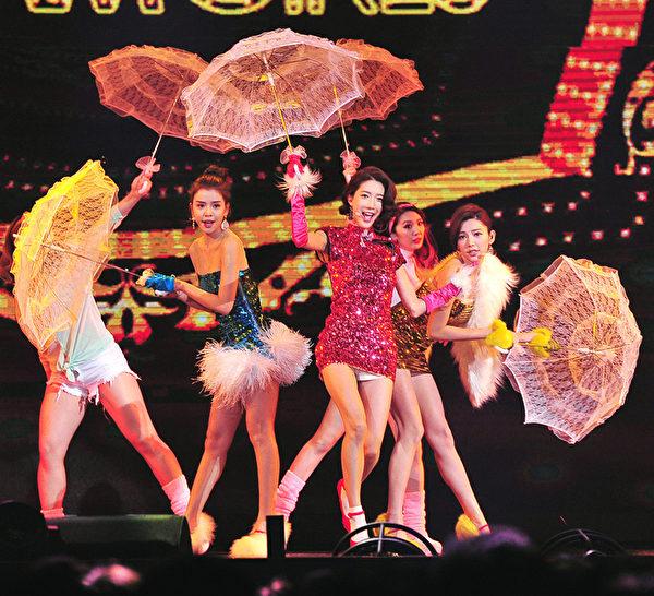 台灣女子組合Dream Girls。(台視提供)