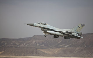 希臘空軍同型F-16戰鬥機。(Mizrahi/Getty Images)
