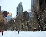 歷史罕見暴風雪26日開始襲擊美國東部,特別以沿海州縣的雪勢最大。週二(1月27日),這裡大部份學校停課、公交停運、超過4000架國際航班被取消,一些地區的超市商品在週一或更早就幾近售空。圖:紐約27日街景(Getty Image)
