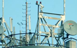 """加拿大""""汉和防务评论""""报导,中共解放军在香港各军营建设的无线电讯号监听天线,能拦截手机基地台收发讯号,读取香港民众Wi-Fi通讯、手机语音通讯资料。(汉和防务评论提供)"""
