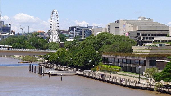 座落于布里斯本河畔的顶级剧院昆士兰表演艺术中心(QPAC)将迎来美国神韵艺术团的莅临。(袁丽/大纪元)