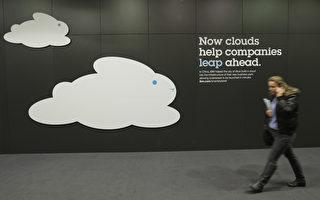 第27届德国汉诺威电子展CeBIT6日揭开序幕,共有70多个国家的4250个参展商带来了各自的最新产品,主题是云端运算和信任管理。(Sean Gallup / Getty Images)