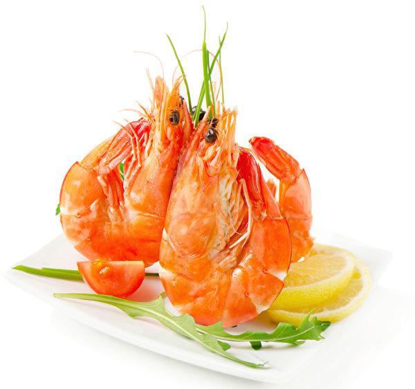 日本年菜以虾子(海老)为快乐表征。(fotolia)