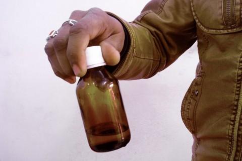 辛格的神秘药水是祖父在大约100年前制造的,迄今仍有效。(Venus Upadhayaya /大纪元)