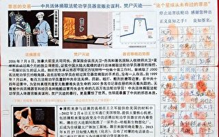 河北万人签名 呼吁查处江周活摘器官罪行