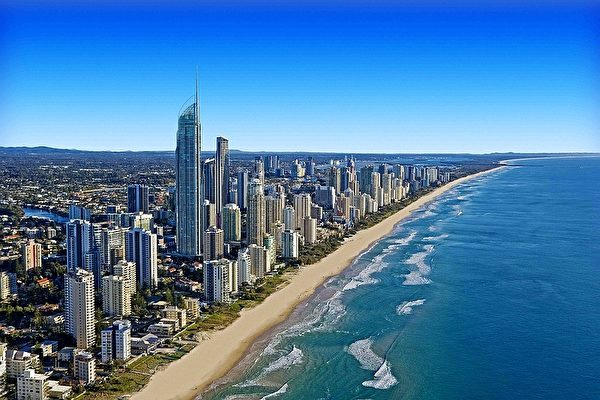 1月31日晚,神韵纽约艺术团在澳洲黄金海岸成功结束了第二场演出 。(澳洲旅游局Tourism Australia提供)