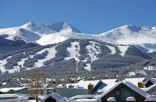 布雷肯里奇(Breckenridge Ski)滑雪场。(Fotolia)