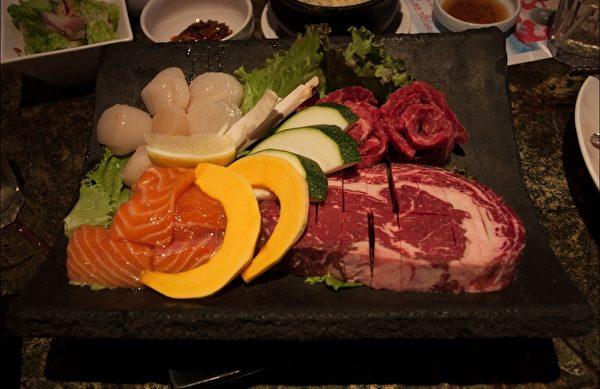 Chosun Galbee 韓風烤肉。(徐曼沅/大紀元)