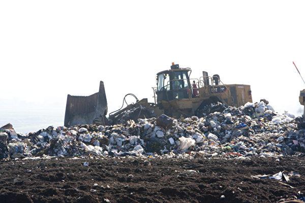 聖荷西紐比垃圾填埋場。(馬有志/大紀元)