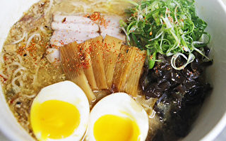 日式味增拉麵。(圖:Puff Cha餐廳提供)