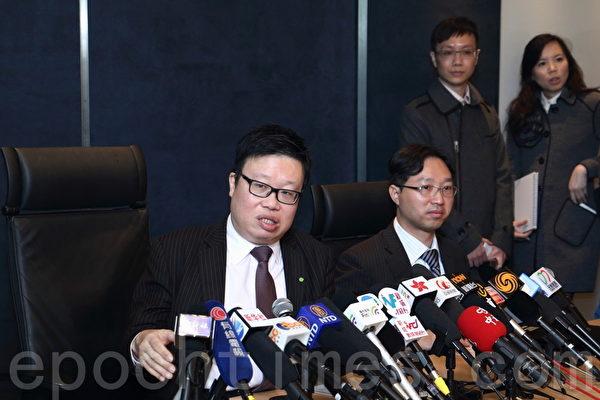 亚视经理人、德勤中国华南区主管合伙人黎嘉恩指,亚视接获三份标书,但主要投资者王征不满出价。他指目前情况不能再拖,吁股东理智。(蔡雯文/大纪元)