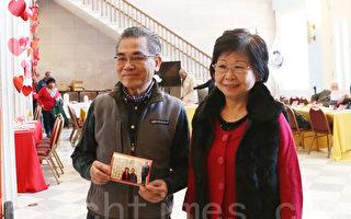 金婚夫妻吴先生和太太。(杜国辉/大纪元)