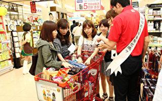 业界预测,今年中国新年期间,中国游客的数量将增加30%,达到近13万人次。百货公司和商场都增加了中国柜台。(全宇/大纪元)