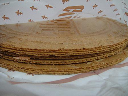 神户风月堂的香脆华夫饼。(商家提供)