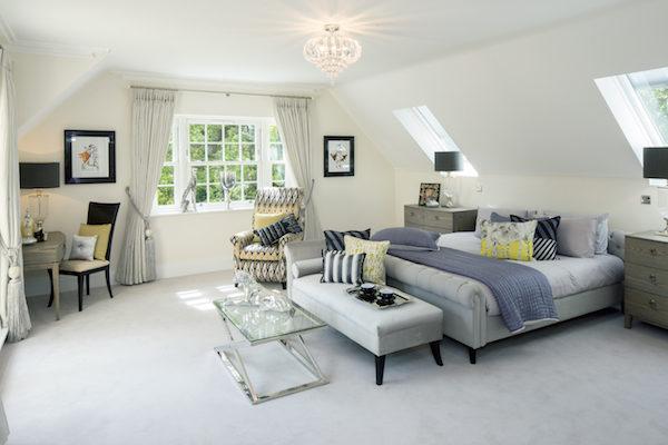 豪华的卧室提供了雅致的布局、优质的设施、舒心的生活。
