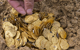 以色列外海发现2000枚千年古金币