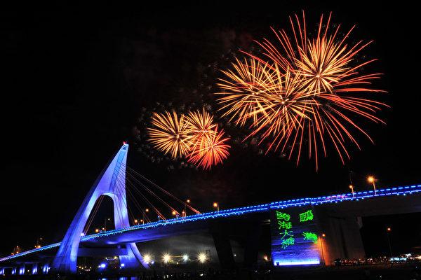 台湾屏东大鹏湾国家风景区已成为屏东仅次于垦丁国家公园的国际观光景点,区内玩帆船、搭乘游艇奔驰,晚上还有鹏湾跨海大桥的光雕秀。(鹏管处提供)