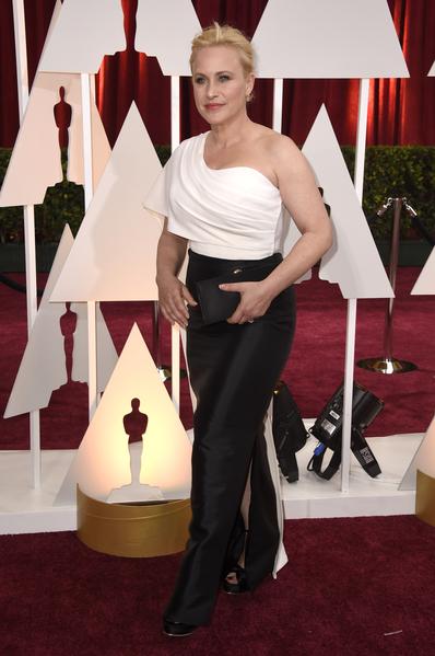 呼聲最高的最佳女配角入圍者帕特麗夏‧阿奎特(《少年時代》)。(Frazer Harrison/Getty Images)