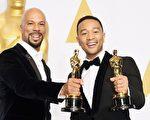 由嘻哈歌手约翰‧传奇与凡夫俗子主唱的电影《逐梦大道》的电影主题曲《光荣之日》荣获奥斯卡最佳原创歌曲。(美昇国际影业提供)