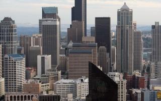 風景優美、教育和科技水平高,西雅圖爭取外國投資的競爭力很高。(AFP)
