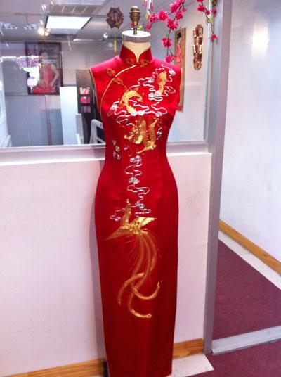 旗袍有自己的服饰特色。(上海鸿翔提供)