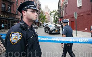 纽约市的警察。 (SamiraBouaou/英文大纪元)