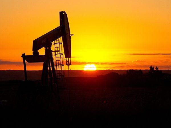 北达科他州(North Dakota)的石油钻井平台。(Karen BLEIER/AFP)