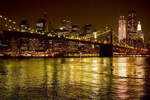 纽约布鲁克林大桥。(戴兵/大纪元)