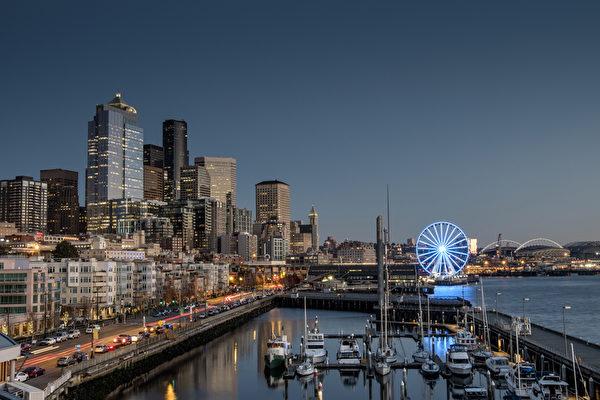 西雅图,华盛顿州(Seattle)。(Fotolia)